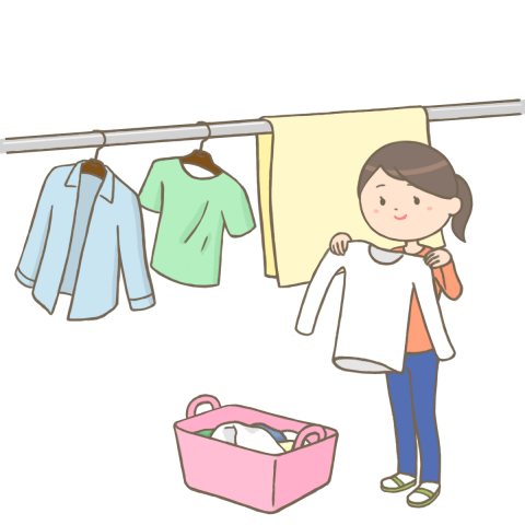washing-desiccate-clothes
